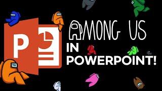 Among Us On Ms Powerpoint 어몽어스로 만든 Ppt Youtube