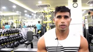 Interview with Jerai Fitness's Brand Ambassador Sham Singh Shera - A specially abled athlete