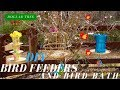 Dollar Tree DIY | BIRD FEEDERS & BIRD BATH