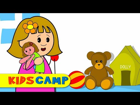 Miss Polly Had A Dolly   Nursery Rhymes   Popular Nursery Rhymes by KidsCamp