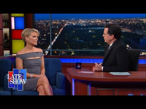 Megyn Kelly tells Stephen Colbert about her 'dark year' fighting Donald Trump