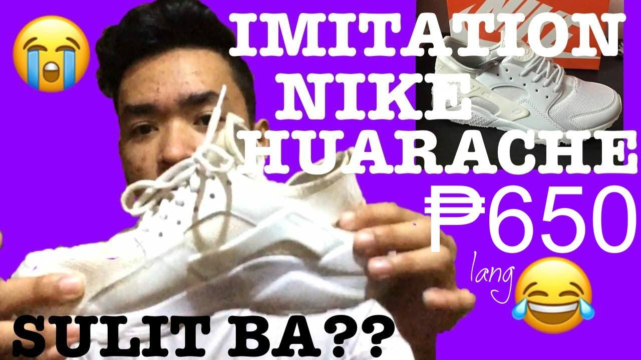 SULIT BA ANG CLONE/IMITATION NA NIKE SHOES??? Unboxing & Review / Yam  Cempron - clipzui.com