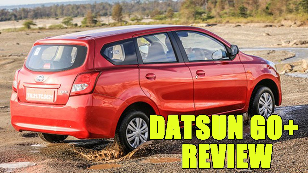 Nissan Datsun Go Plus Car User Reviews in India - Pros and ...