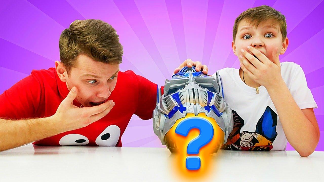 Роботы трансформеры - Бамблби стал Пикачу! - Видео для мальчиков.