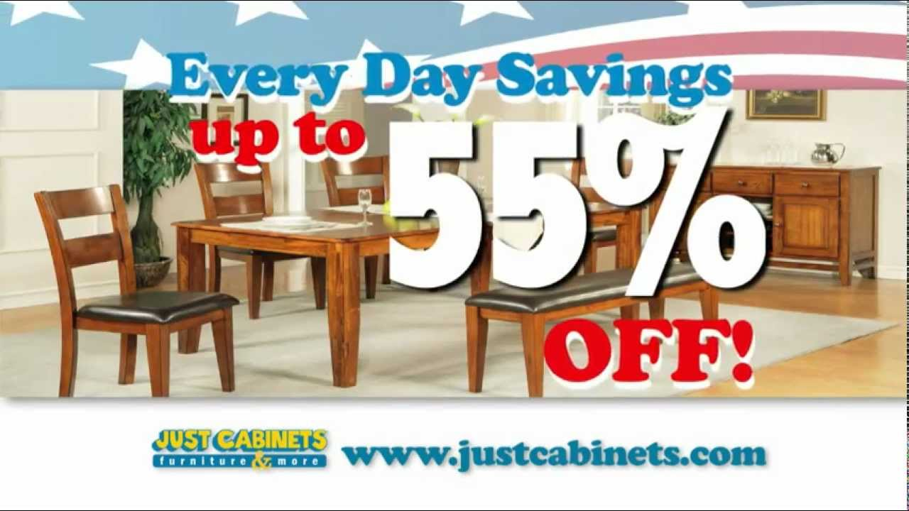 Just Cabinets Aberdeen Just Cabinets Furniture More Memorial Day Sale Youtube
