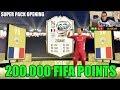 200.000 FIFA POINTS!! IL PACK OPENING PIU GRANDE DELLA MIA VITA!! 3 ICON TROVATE!!
