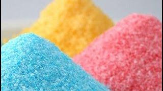 Цветной сахар. Кондитерская посыпка своими руками.Цветной сахар как приготовить.Цветной сахар рецепт