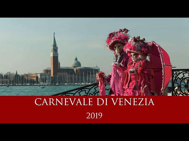 Carnevale di Venezia 2019 - Reportage del Volo dell'Aquila