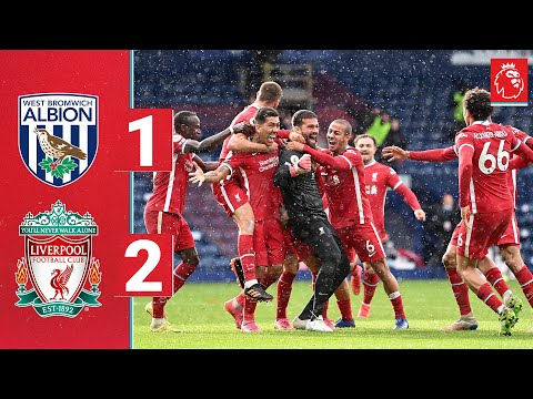 Highlights: West Brom 1-2 Liverpool | ALISSON heads the winner in injury time!