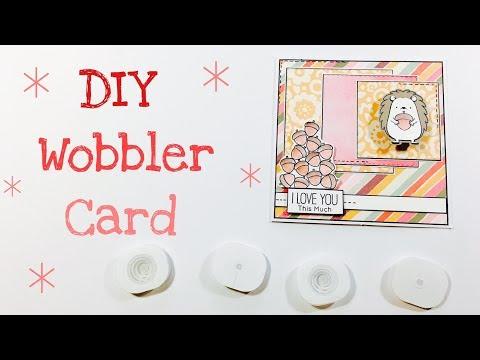 DIY Wobbler Card [tutorial | deutsch]