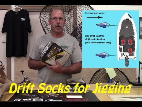Why You Should Use Drift Socks While Fishing