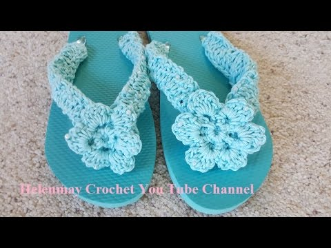 d9524e4bf249 Crochet Deluxe Beach Bag Flower for Flip Flops and Shawl DIY Tutorial