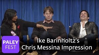 the mindy project ike barinholtzs chris messina impression