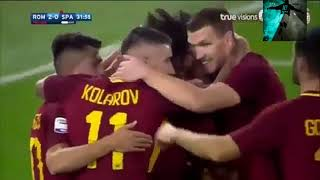 Roma vs spal 3-1  ampia sintesi HD