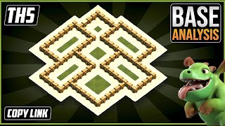 The ULTIMATE TH5 HYBRID/TROPHY[defense] Base 2021!! Town Hall 5 Hybrid Base Design - Clash of Clans
