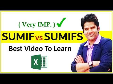 Sumifs Formula In Excel In Hindi || Sumif And Sumifs Excel Functions | Deepak EduWorld