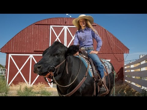 The Cow Girl