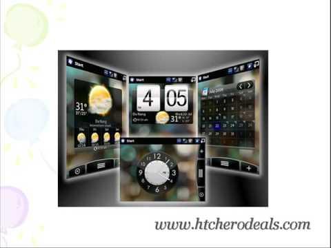 HTC Hero - The google android phone | HTC Smart phone | Pocket PC Phone