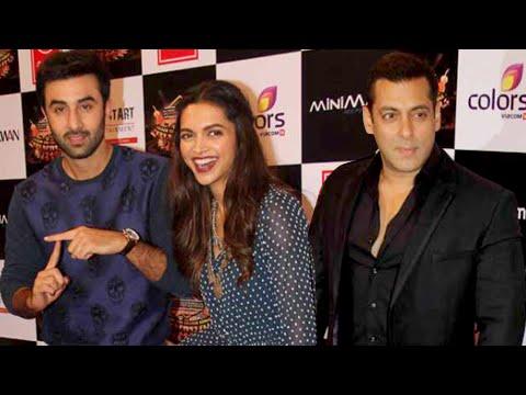 (Uncut) Suron Ke Rang Color ke Sang | Salman, Ranbir Kapoor Deepika Padukone Walk The Red Carpet