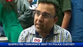 Suspected terrorists sent to police custody in Kolkata