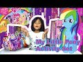 MY LITTLE PONY ACTIVITY SET + FASHION GIRL DOLL:  Unboxing & Playing
