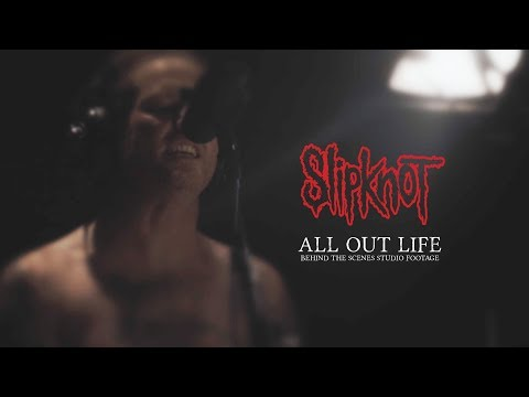 SHROOM - SLIPKNOT Behind The Scenes Recording New Song 'All Out Life' [Video]