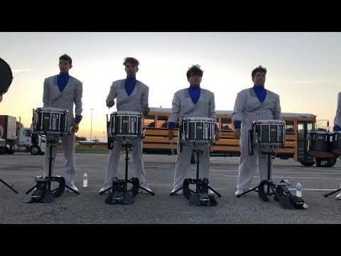 Hebron High School Drumline 2019 Lot Performance PDLC