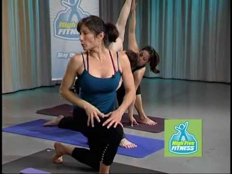 High Five Fitness Episode 4, Yoga for Core.