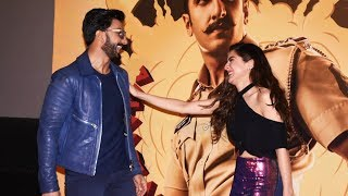 Full HD Video: Simmba Trailer Launch Event BEST MOMENTS | Ranveer Singh, Sara Ali Khan