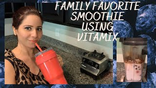 Family favorite smoothie using…
