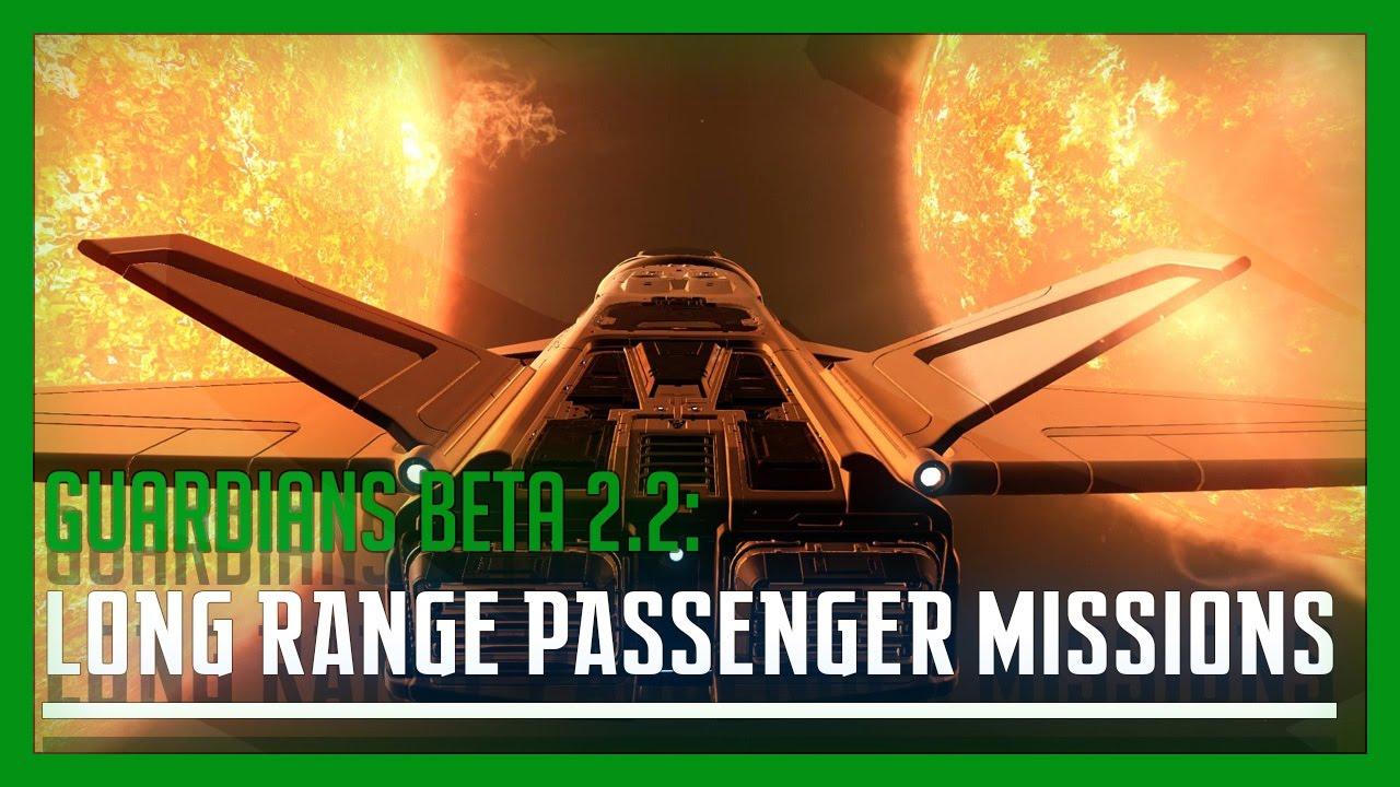 Elite: Dangerous - Long Range Passenger Missions