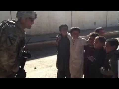 US Army's Joseph A. Coscia brings smiles to children in Afghanistan