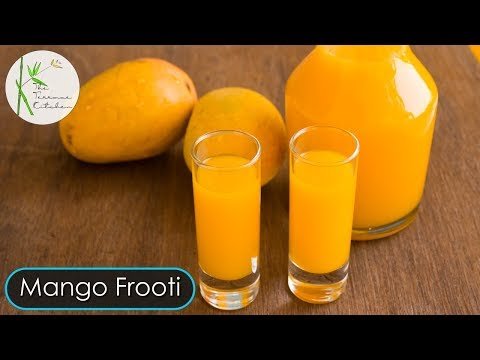 Mango Frooti | Summer Mango Drink | Mango Cooler ~ The Terrace Kitchen
