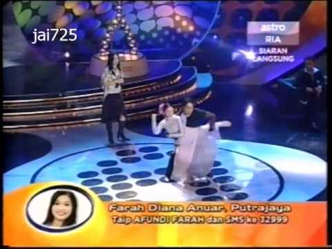 Akademi Fantasia 2 - Farah - Tenda Biru - jai725