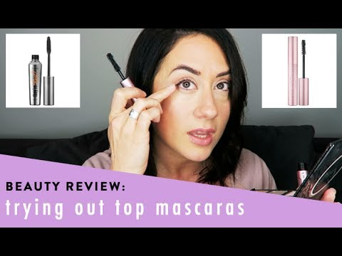 0497997e9fe Too Faced Better Than Sex vs Benefit They're Real Mascara   Makeup Review