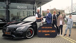 BOTB Winner Gary Wood collects his Mercedes C63-S AMG Coupe!