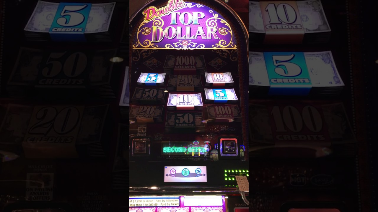 $25 Top Dollar Slot Machine - High Limit Live Bonus ...