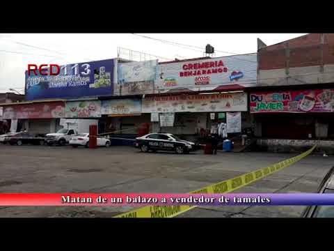 VIDEO Matan de un balazo a vendedor de tamales en el Mercado de Abastos