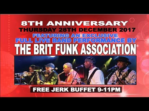 We Love Soul 8th Anniversary Ft. The Brit Funk Association