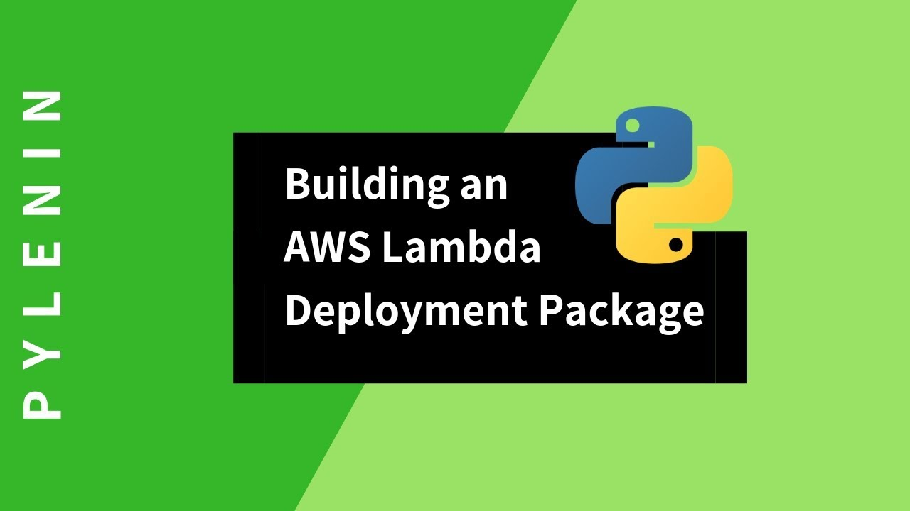 AWS Lambda Deployment Package in Python