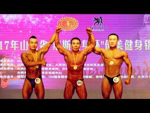 57-year-old man grabs gold medals in body building competition