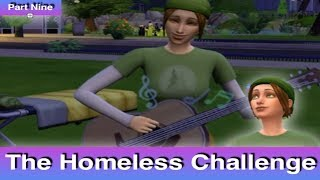 The Sims 4: Homeless Challenge // For the Future (Part 9)