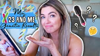 My 23andMe Genetic Results + Trying the Revlon One-Step Hair Dryer!   Vlog