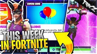 FORTNITE IS DELETING SKINS! CUBE CRACKING & BALLOONS COMING! | This Week In Fortnite Battle Royale