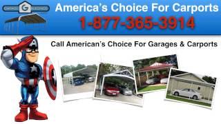 Amonate Metal Carport Kits | Garagebuildings.com