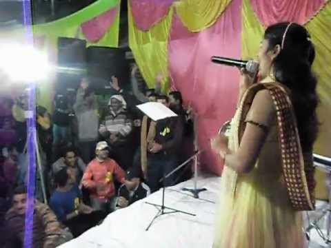 Bandna Dhiman with Bhairvi musical Group in Utrakhand Live Jagran.AVI