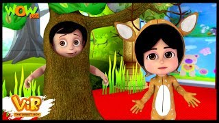 Vir The Robot Boy | Hindi Cartoon For Kids | Drama competition | Animated Series| Wow Kidz