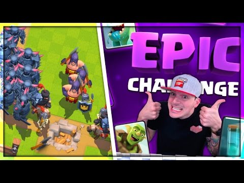 TOO EASY! - Clash Royale EPIC Challenge!