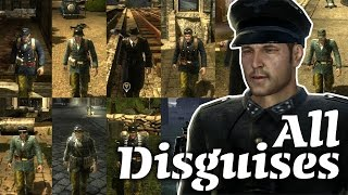 The Saboteur - All Disguises