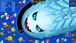 WormsZone.io 001 Best Pro Worm Vs Giant Worm Epic WormsZoneio Trolling Best Moments #102